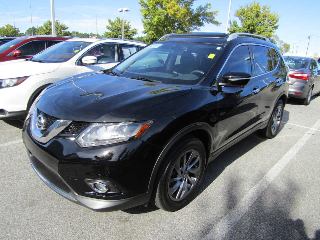 used 2015 nissan rogue sl vin 5n1at2mt4fc913892 columbia sc 29223 dick smith nissan of columbia. Black Bedroom Furniture Sets. Home Design Ideas