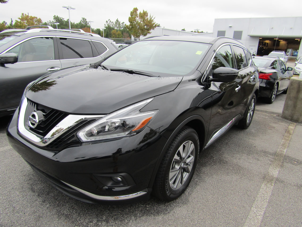 used 2018 nissan murano sv vin 5n1az2mg4jn114404 columbia sc 29223 dick smith nissan of columbia. Black Bedroom Furniture Sets. Home Design Ideas