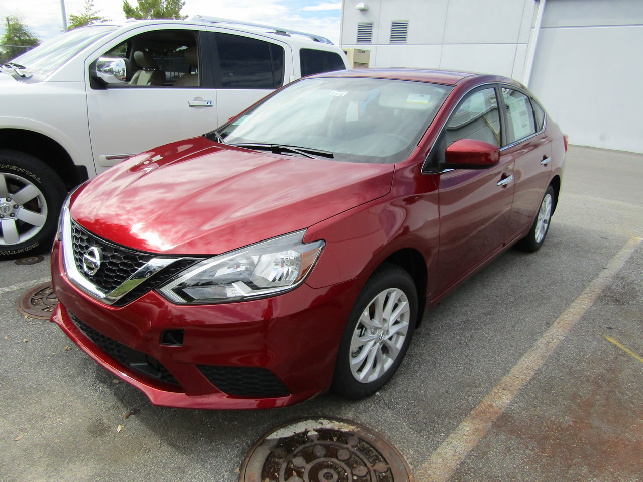 new 2019 nissan sentra sv vin 3n1ab7ap1ky201615 columbia sc 29223 dick smith nissan of columbia. Black Bedroom Furniture Sets. Home Design Ideas