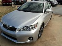 USED 2012 LEXUS CT200H F-SPORT PACKAGE
