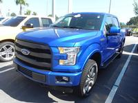 USED 2017 FORD F-150 SUPERCREW LARIAT 4WD